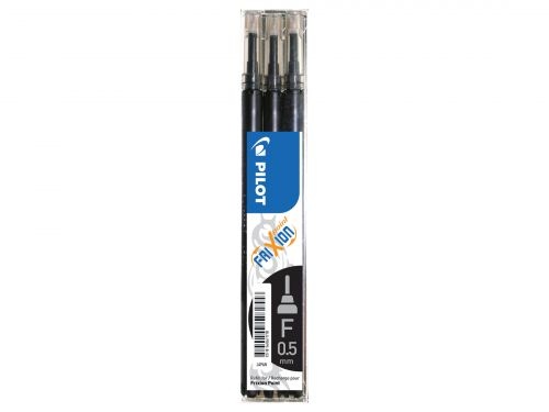Pilot Refill for Frixion Point 0.5mm Black (Pack 3)