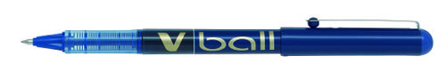 Pilot VBall Liquid Ink Rollerball 0.7mm Blue PK12