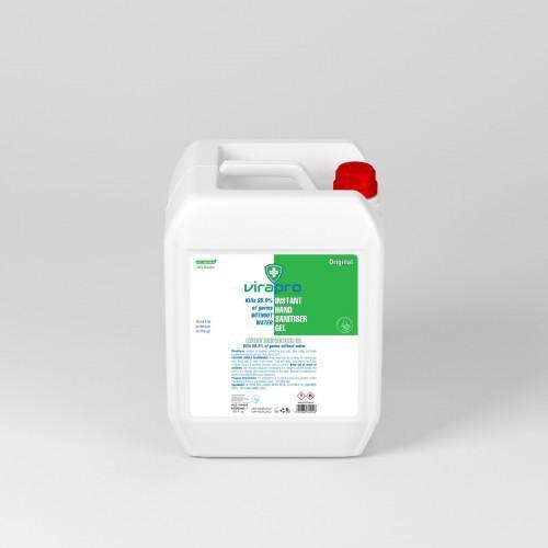 ViraPro 5 Litre, 70% Alcohol Gel Hand Sanitiser