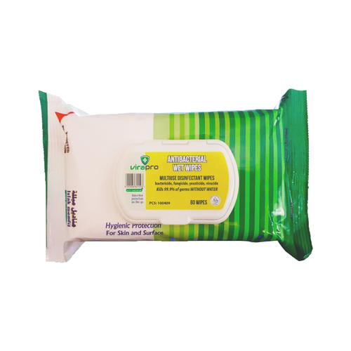 ViraPro Anti-Bact cleaning cloths 99.9% safe, 80's