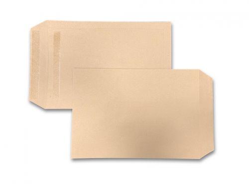 Pocket Self-Seal C4 Manilla 115gsm 324 x 229mm (Box 250) Code 13888
