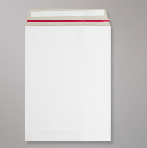 Pocket Peel & Seal C3 All Board White 350gsm 457 x 330mm With Red Rippa Strip (Box 100) Code AB17-RIP