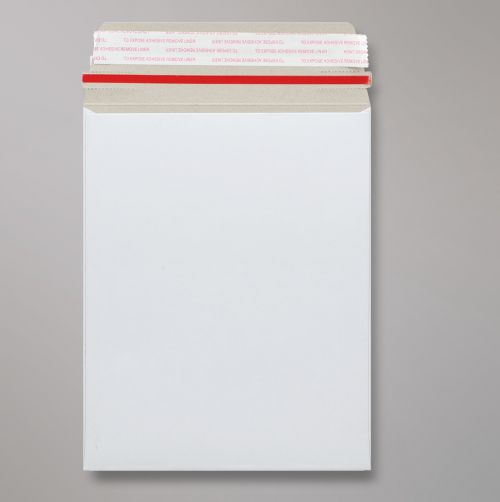 Pocket Peel & Seal C5+ All Board C5 White 350gsm 239 x 164mm With Red Rippa Strip (Box 200) Code AB5-PIP-RIP