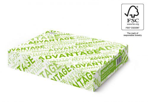 Advantage FSC Copier A4 75gsm White Paper (Box 2500) Code AC2175