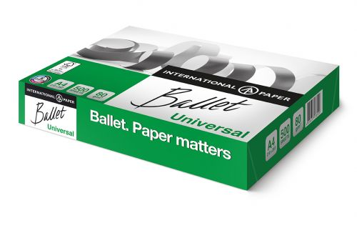 Ballet Universal A4 80gsm White Paper (Box 2500) Code BC2180
