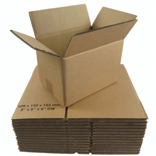12x9x5in Double Wall Box 305mm x 229mm x 127mm (Pack 15) B/C Flute Code DWBOX12X9X5
