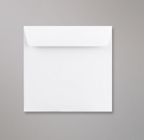 Wallet Peel & Seal Square Super White 120gsm 155 x 155mm No Opaque (Box 500) Code C03155PS