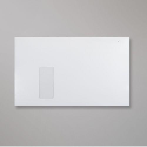 Wallet Peel & Seal C4 Super White 120gsm 324 x 229mm Window 40 x 105mm 24 FLHS 213 Up No Opaque (Box 250) Code C03C4PS-W