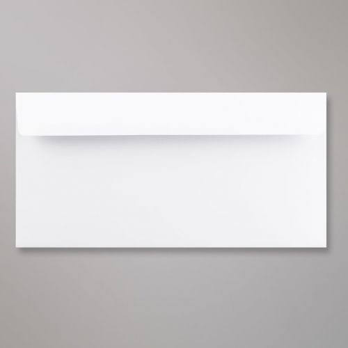 Wallet Peel & Seal DL Super White 120gsm 110 x 220mm No Opaque (Box 500) Code C03DLPS