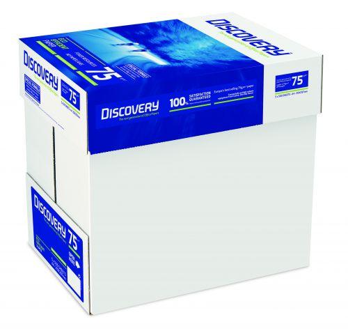 Discovery Copier A4 75gsm White Non-Stop Box (Box 2500) Code DSCA475B