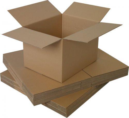 18x12x3in Single Wall Box 457mm x 305mm x 76mm (Pack 25) Code SW181203