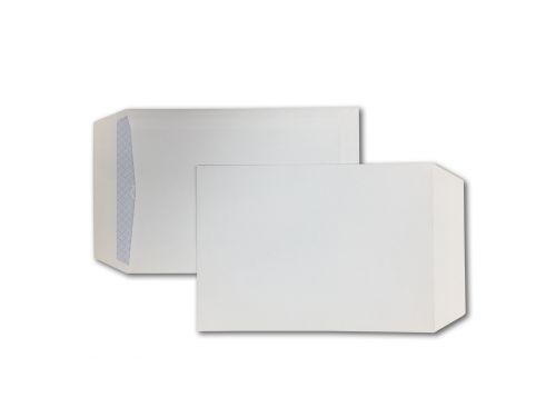 Pocket Peel & Seal C5 White 100gsm 229 x 162mm Blue Hatch Inner Opaque (Box 500) Code ENVC5/1P08
