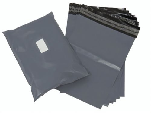 Grey Polythene Mailing Bags 250mm x 300mm (Pack 1000) Code GMB1012