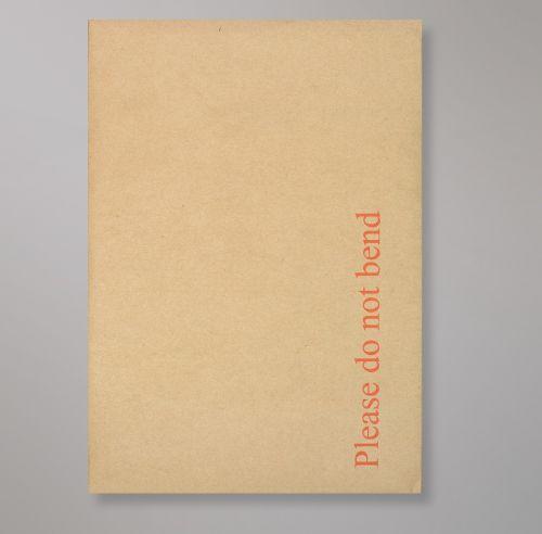 Pocket Peel & Seal C5+ Board Back 238 x 163mm Manilla 120gsm Paper 600gsm Grey Board Backed (Box 125) Code HB238M