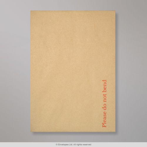 Pocket Peel & Seal C4 Board Back 324 x 229mm Manilla 120gsm Paper 600gsm Grey Board Backed (Box 125) Code HB324M