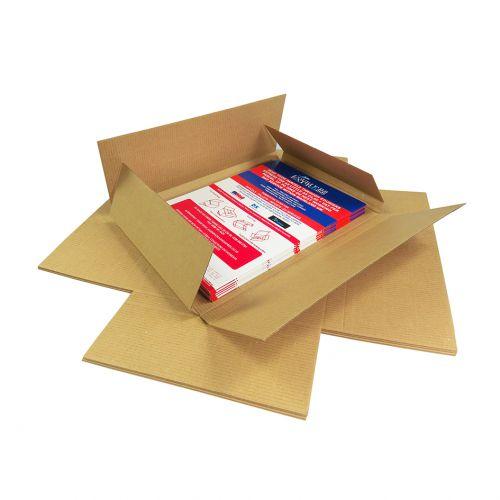 Postal Box DL Maltese Cross Style 218mm x 108mm x 19mm (Pack 100) Code MALTDL