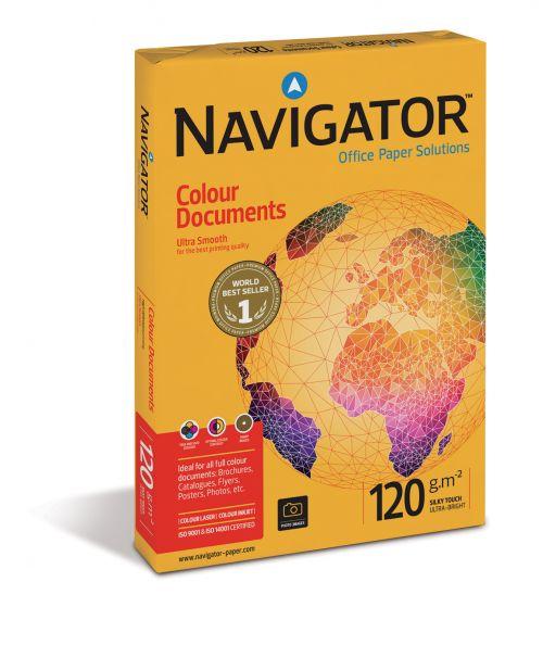 Navigator A4 120gsm White Paper (Box 2000) Code NAVA4120