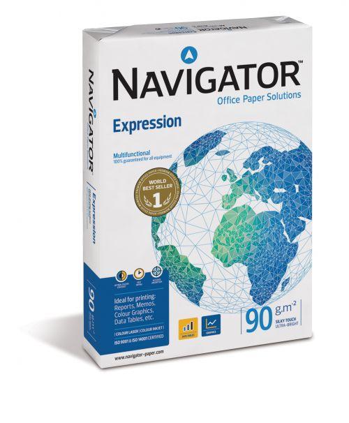 Navigator A4 90gsm White Paper (Box 2500) Code NAVA490