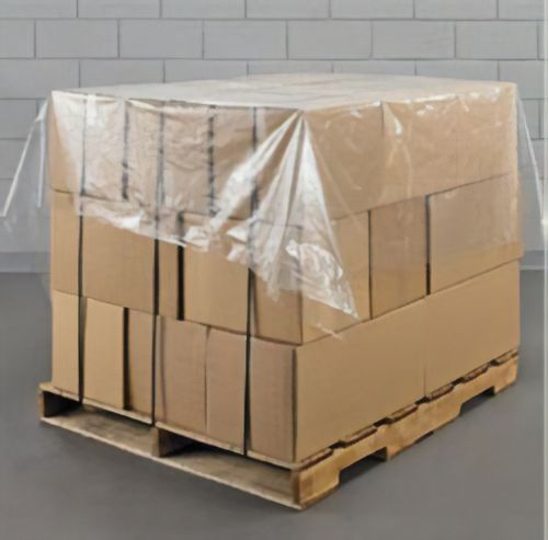 Polythene Pallet Covers (Perforated on Roll) 1400mm x 1400mm (Pack 500) Code PC140030M