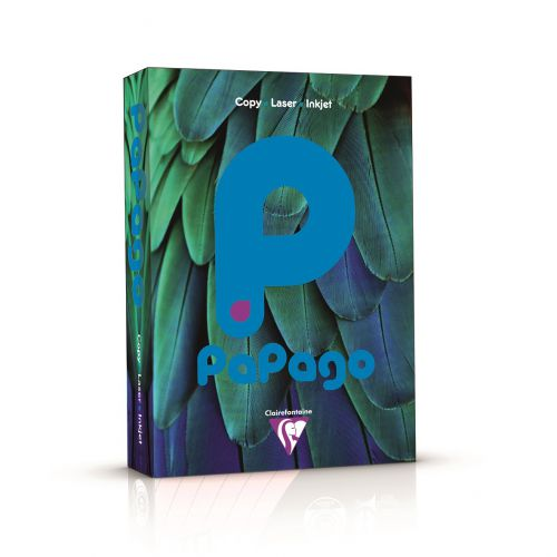 Papago Deep Intensive Blue A4 160gsm Coloured Card 250 Sheets