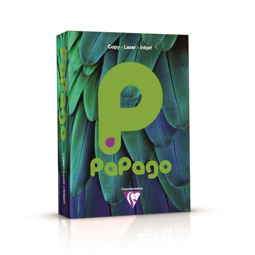 Papago Deep Intensive Green A4 160gsm Coloured Card 250 Sheets