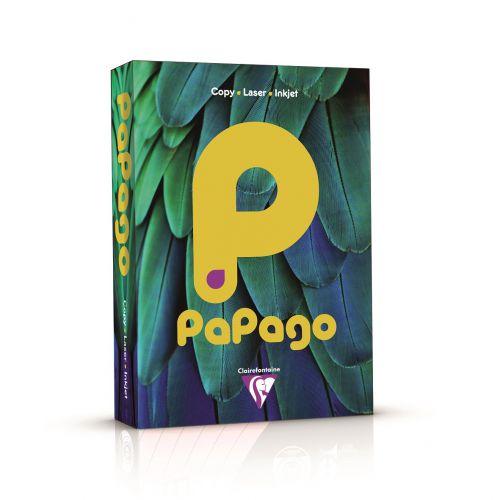 Papago Deep Sunflower Gold A4 80gsm Paper (Box 2500) Code FSGO2180