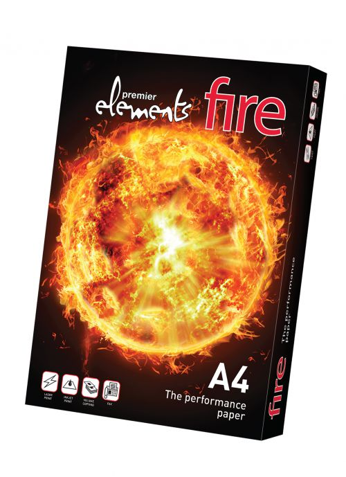 Elements Fire A3 White 160gsm Card 250 Sheets