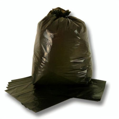 Black Refuse Sacks 18x29x39in 30mic (Pack 200) Code RFSBKBEE