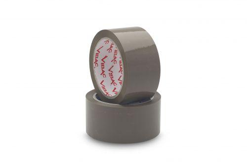 Vibac Hot Melt 425 Tape Buff 48mm x 66m (Pack 36) Code VIBACBUFF