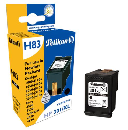 Pelikan Ink Cartridge replaces HP 301XL Black (CH563EE)