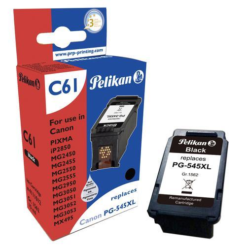 Pelikan Ink Cartridge replaces Canon PG-545XL Black
