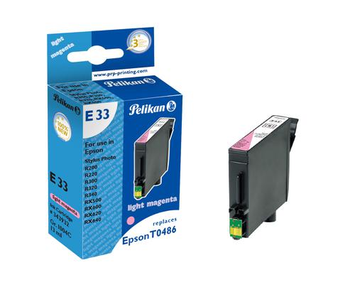 Pelikan Ink Cartridge replaces Epson T0486 Light Magenta