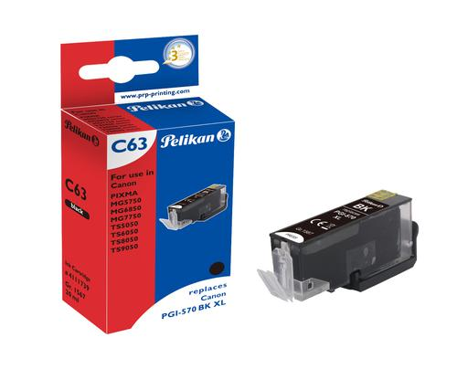 Pelikan Ink Cartridge replaces Canon PGI-570XLBK Black