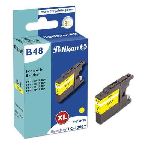 Pelikan Ink Cartridge replaces Brother LC1280XLY Yellow