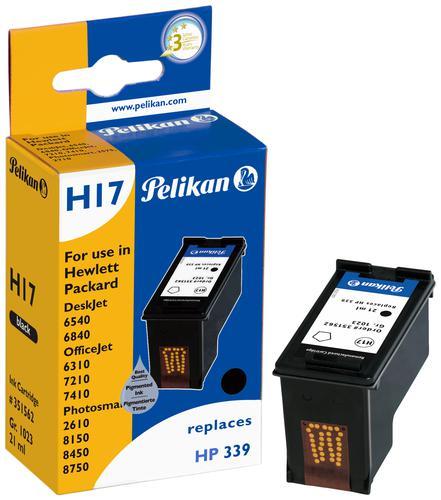 Pelikan Ink Cartridge replaces HP 339 Black (C8767EE)