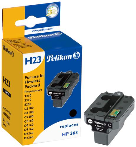Pelikan Ink Cartridge replaces HP 363 Photo Black (C8721EE)