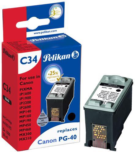 Pelikan Ink Cartridge replaces Canon PG-40 Black