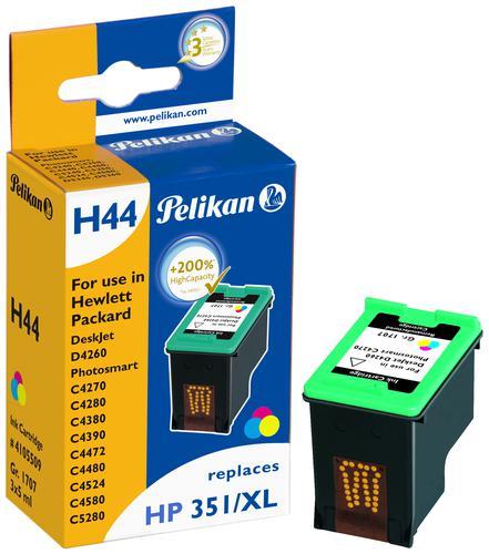 Pelikan Ink Cartridge replaces HP 351XL Tri-Colour (CB338EE)