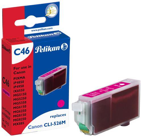 Pelikan Ink Cartridge replaces Canon CLI-526M Magenta