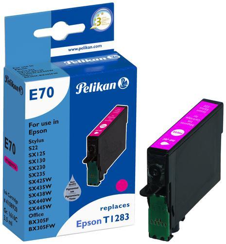 Pelikan Ink Cartridge replaces Epson T1283 Magenta
