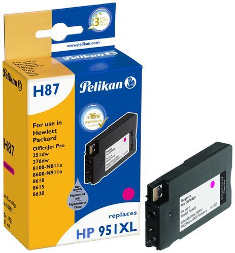 Pelikan Ink Cartridge replaces HP 951XL Magenta (CN047AE)