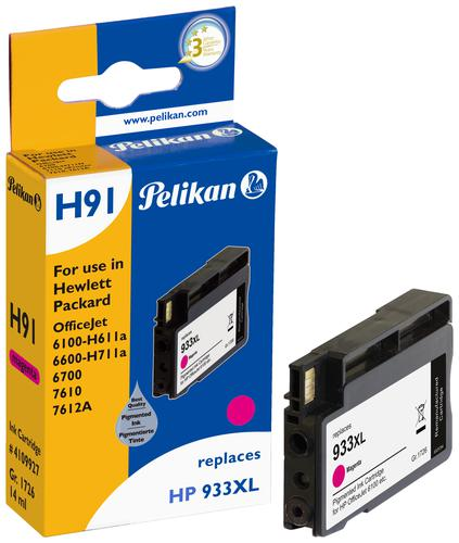 Pelikan Ink Cartridge replaces HP 933XL Magenta (CN055AE)