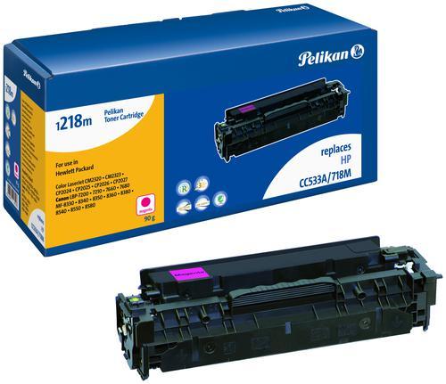 Pelikan Laser Toner replaces HP 304A Magenta (CC533A)