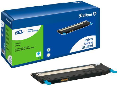 Pelikan Laser Toner replaces Samsung CLT-C4092S Cyan