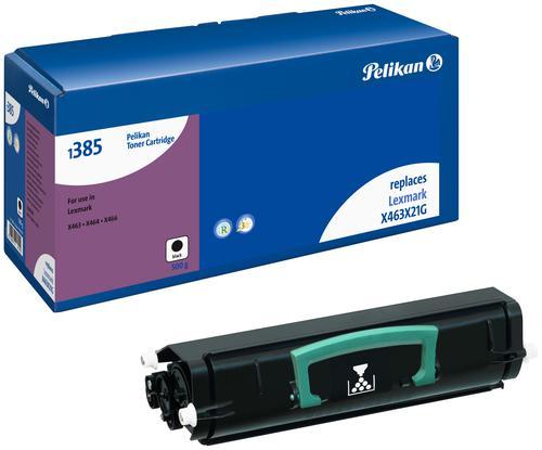 Pelikan Laser Toner replaces Lexmark X463X21G Black