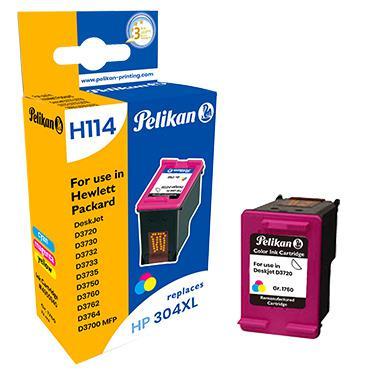 Pelikan Ink Cartridge replaces HP 304XL Tri-Colour (N9K07AE)