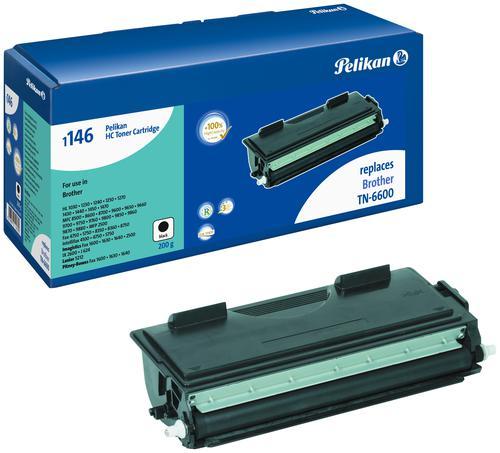 Pelikan Laser Toner replaces Brother TN-6600 Black