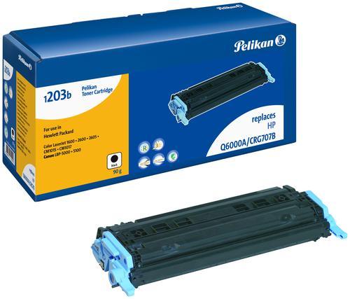 Pelikan Laser Toner replaces HP 124A Black (Q6000A)
