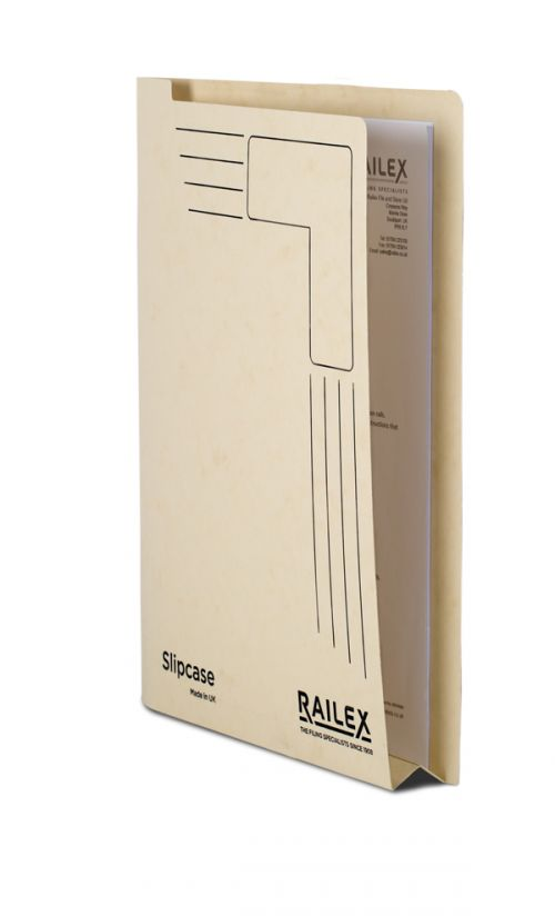 Railex Slipcase A4 350gsm Ivory SLIP PK25