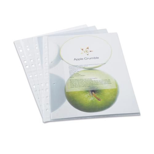 Rapesco ECO Punched Pockets A4 Clear Box of 100